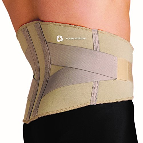Thermoskin Thermal Lumbar Support with Internal Stays for Extra Support Large 91-100cm
