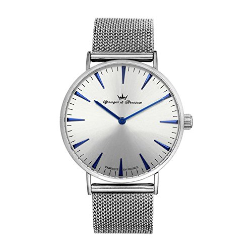 Reloj Yonger & Bresson hombre Silver–HMC 075/cm