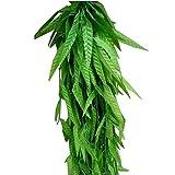 Künstliche Grüne Blume Reben Hang Leaf Vine Rattan Blätter Home Decoration