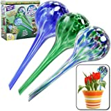 Set of 3 Plant-watering Wasserspender für Pflanzen Birne Aqua Globes Mini Glass Watering Bulbs ACC-1352