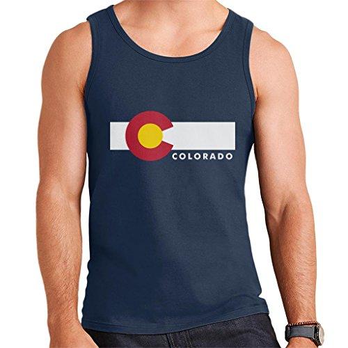 Colorado State Flag Men's Vest