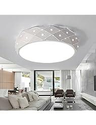 Fhrte Einen Modernen Runde Crystal Decke Im Schlafzimmer Licht Romantisch Wohnzimmer Lampe Kreative Persnlichkeit Zimmer