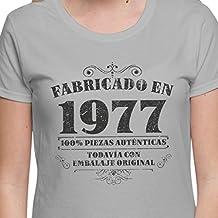 Camiseta de mujer para regalo de 40 cumpleaños Manufactured 1977