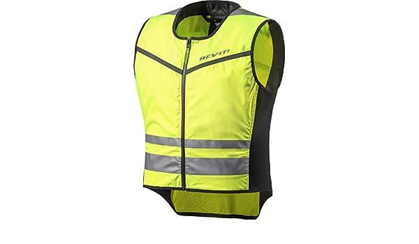 IXS Neon II Motorrad Warnweste Sicherheitsweste gelb schwarz Größe 3XL/4XL Auto-Anbau- & -Zubehörteile