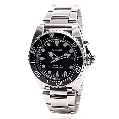 Seiko Prospex Kinetic 200 Meter Dive Men's Automatic Analogue Watch