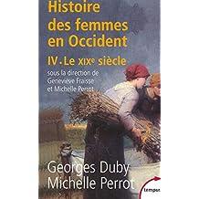 Histoire des femmes en Occident, tome 4 : Le XIXe siècle