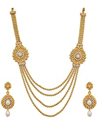 Pankh Polki Design Bridal Necklace Set NK-013