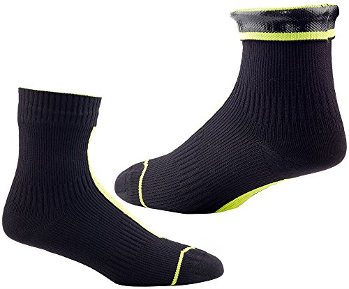 sskinz-road-hydrostop-ankle-sock-charcoal-hi-vis-yellow-medium
