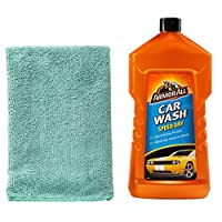 Armor All Speed Dry car Wash Shampoo With Microfiber Cloth 1L
