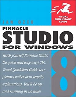 PINNACLE STUDIO 8 FOR WINDOWS (Visual QuickStart Guides) (0321186532) | Amazon Products