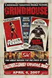 GRINDHOUSE - PLANET TERROR DEATH PROOF – Imported Movie Wall Poster Print – 30CM X 43CM Brand New