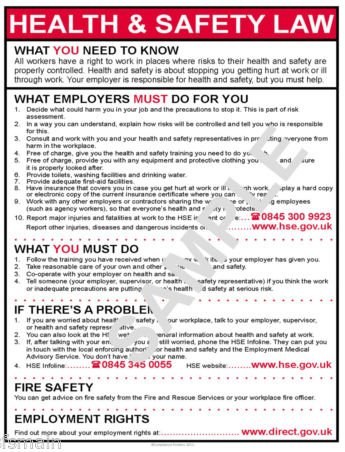 health-and-safety-work-place-hse-law-a4-laminated-poster-for-business-premises