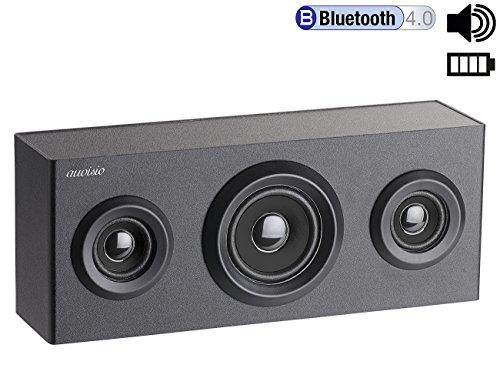auvisio BT 4.0 Regal-Lautsprecher – ZX1578 – 2.1-Sound – Holz - 2
