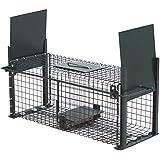 Moorland® Safe 5006 Lebend-Falle 50x18x18cm als stabile Marder-Falle, Kaninchen-Falle, Katzen-Falle mit 2 Eingängen