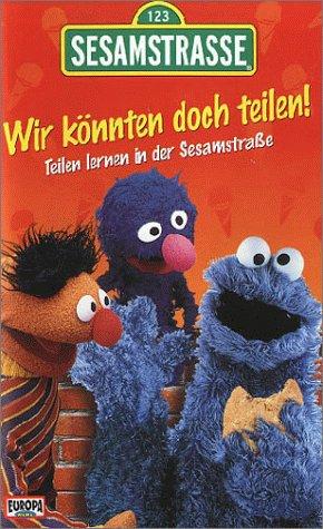 Preisvergleich Produktbild Sesamstraße: Wir könnten doch teilen! Teilen lernen in der Sesamstraße [VHS]