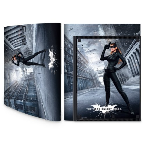 YOUNiiK Styling Skin Designfolie für Sony Playstation 3 Super Slim bzw. PS3 super slim - Batman Catwoman