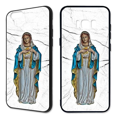 Handyhülle Christ für Apple iPhone Silikon Katholisch Kreuz Gott Jesus Engel, Kompatibel mit Handy:Apple iPhone X, Hüllendesign:Design 3 | Silikon Schwarz