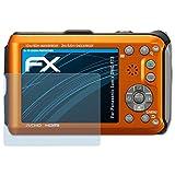 atFoliX Displayschutzfolie für Panasonic Lumix DMC-FT3 Schutzfolie - 3 x FX-Clear kristallklare Folie