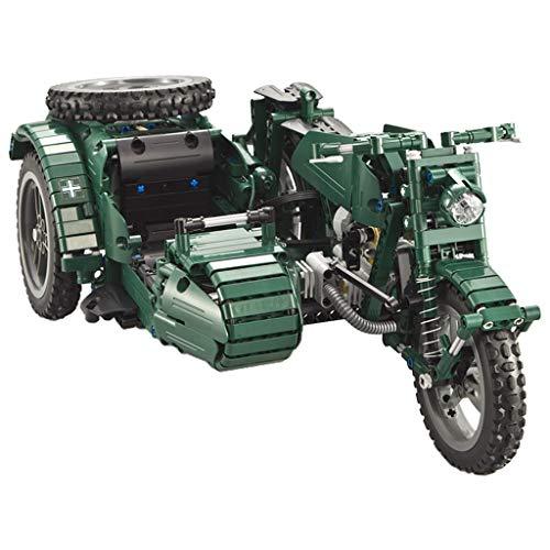 P Prettyia DIY RC Motorräder Bausatz Kit, Ferngesteuertes Motorrad Basteln Spielzeug für Auto Liebhaber
