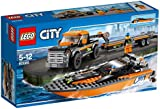 LEGO City Great Vehicles 60085: 4 x 4 with Powerboat