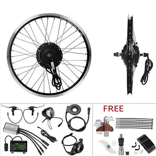 YOSE POWER 36V250W Kit di Conversione per Bici Elettrica con Ruota Anteriore da 20\'\', Motore a Mozzo da E-Bike per Il Bricolage e-Bike