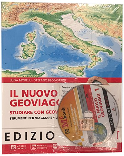Il nuovo Geoviaggi. Con atlante-Fascicolo studiare con Geoviaggi. Con espansione online. Per la Scuola media: 1