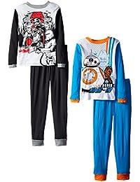 Star Wars Big Boys elegir lados Four-piece Juego de pijama