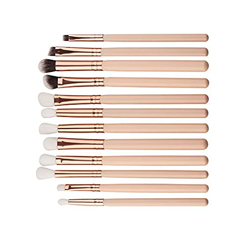 12Pcs Mini Kosmetik Augenbraue Lidschatten Pinsel Vovotrade Make-up Pinsel Sets Kits Tools
