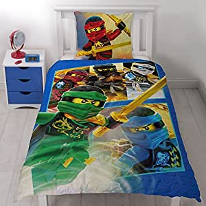 lego ninjago kinderbettw sche team ninja kinder jungen bettw sche set 2 tlg 80x80 135x200. Black Bedroom Furniture Sets. Home Design Ideas