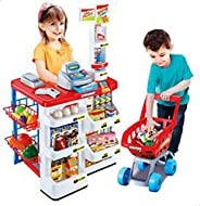 Home Supermarket Kids Playset - DIY