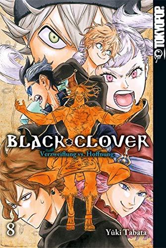 Black Clover 08: Verzweiflung vs. Hoffnung Clover Band
