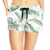 This short have 4 SIZE: Adjustable drawstring and elastic elastic band give you great comfort. Stylish and functional shorts suit for gym, beach, sports, surf, sun spa, walk, running, trainning, workout, travel, soccer, basketball, Hawaiian vacation,...