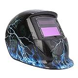Casco para Soldar Careta de Soldadura con Rango de Sombra DIN 9-13 Máscara de Oscurecimiento Automático para Soldar