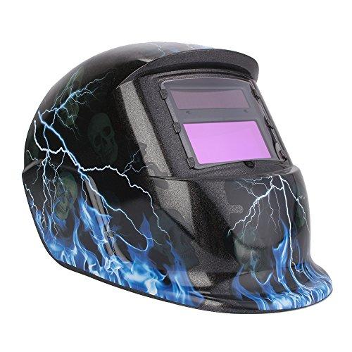Schweißhelm ,Schweißmaske Solar-automatische Foto-Schweißmaske Klarsichtschweißhelm Guter Schutz Verhindern Sie schädliche Strahlen