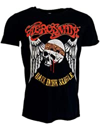 Aerosmith Back In The Saddle Black T-shirt Official Licensed Music