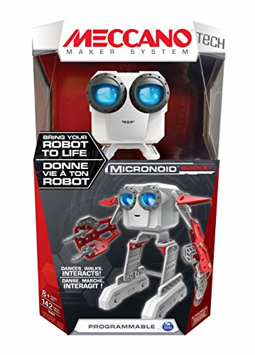 Spin Master 6031222 - Meccano - Micronoid - rot