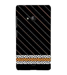 Black Cheeta Design 3D Hard Polycarbonate Designer Back Case Cover for Lumia Lumia 540 :: Microsoft Lumia 540