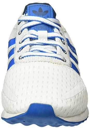 adidas Los Angeles, Baskets Basses Homme Blanc (Ftwr White/Mineral Blue/Shock Blue)