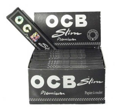 OCB, schmales Premium-Zigarettenpapier, King Size, 5Heftchen von Trendz