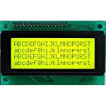 5V DC 20 x 4 Lines ASCII Character HD44780 LCD Display With YELLOW Backlight Product Overview Product Description: o LCD display module with YELLOW Backlight o SIZE : 20x4 (4 Rows and 20 Characters Per Row) o Can display 4-lines X 20-characters o Ope...