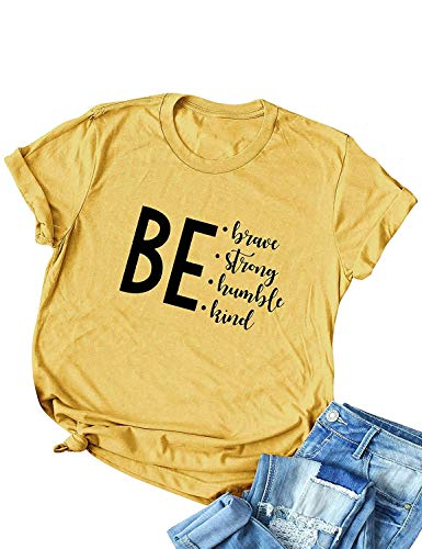 ce069fe4a969 MIARORN Casual Funny Letter Print Short Sleeve Women's Slim Fit Tunic Tee  Tops