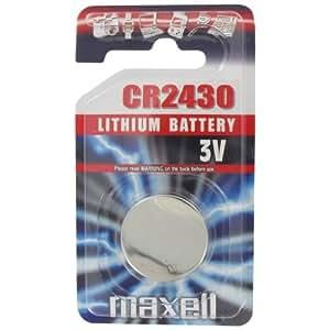 Maxell Lithium CR2430 pile bouton