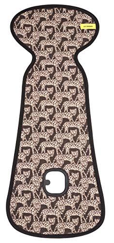 Bio-leopard (AEROMOOV - Air Layer Sitzeinlage - verhindert, dass Ihr Kind schwitzt - Bio Baumwolle (Leoparden, Größe Buggy))