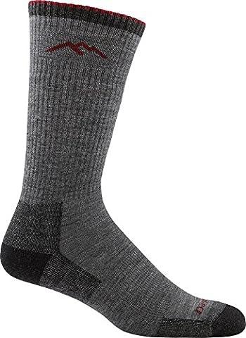 Darn Tough Merino Wool Cushion Boot Sock Charcoal, M