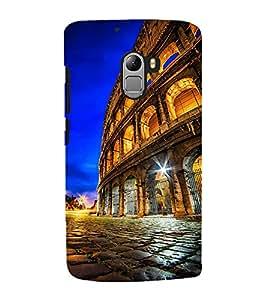Fuson Premium Back Case Cover Mahal With Multi Background Degined For Lenovo K4 Note