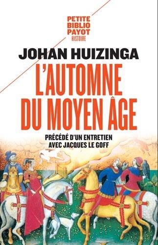 L'automne du Moyen Age