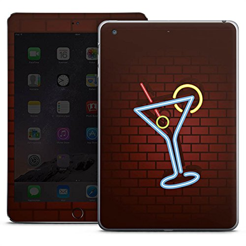 d Mini 3 Case Skin Sticker aus Vinyl-Folie Aufkleber Cocktail Party Neon ()