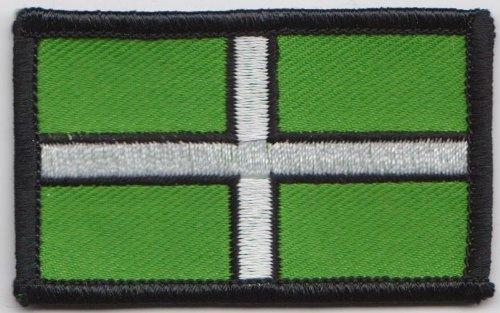 Flagge der Grafschaft Devon, bestickt, a322)