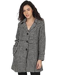 PepTrends Printed Woollen Coat