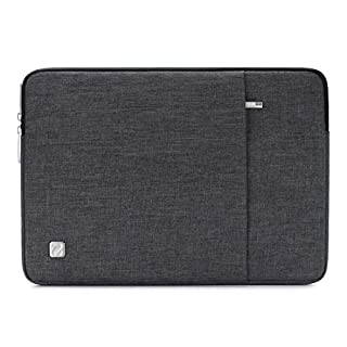 NIDOO 13.3 Inch Water-Resistant Laptop Sleeve Case Protective Bag Portable Carring Pouch For 13